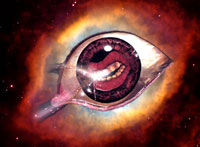 Eye-Mouth of Sedon superimposed over Eye of God