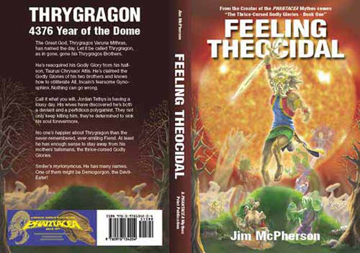 Full Cover for Feeling Theocidal, artwork by Verne Andru, 2008