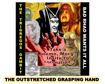 Jpeg entitled 'The outstretched, grasping hand', prepared on PHOTOSHOP by Jim McPherson, 2005