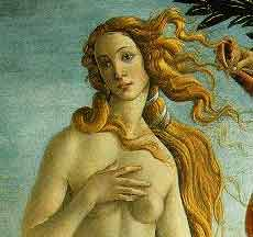 [BRUNHILD VON ALPTRAUM LOOKS SOMETHING LIKE BOTTICELLI'S VENUS, IMAGE TAKEN FROM THE WEB]