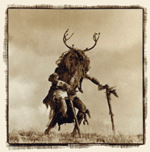 Cervid heyota - uncredited photo of hekoya deer-man taken from Web