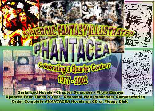 Collage prepared on PHOTOSHOP celebrating 25 Years of PHANTACEA