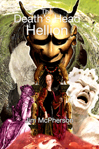 Cover for the Death's Head Hellion, artwork prepared by Jim McPherson, 2010