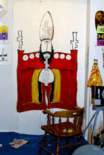 Dan Daulby's Studio Pope, taken from his personal website