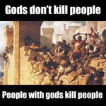 Gods don't kill graphic, taken from web