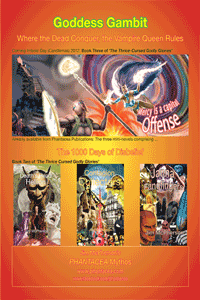 Promo claiming Goddess Gambit will be released on Imbolc Day, 2012