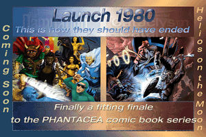 Original Launch 1980 promo; artwork from covers of two Phantacea Revisited covers