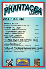 Pricelist for pHant products at cons, 2014