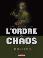 Cover for L'Ordre du Chaos, taken from Delcourt's website