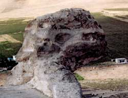 Cliff head spotted and shot in Turkey, 2003