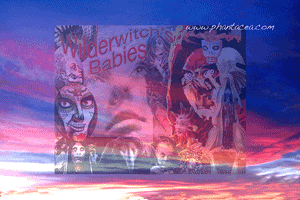 Background image using the same sunset featured on DecDam's cover, coupled with the Witch Babs promo, both prepared by Jim McPherson, 2016
